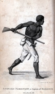 Maroon - Image from Proceeding of the Governor and Assembly in Regard to the Maroon Negroes, 1796. Courtesy of the Library Company of Philadelphia.